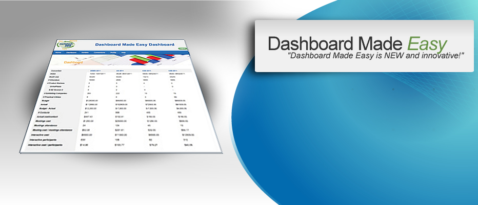 DashBoard Made Easy